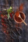 Chili w proszku — Zdjęcie stockowe