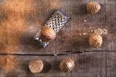 Grated nutmeg  — Stock Photo