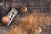 Grated nutmeg  — Foto Stock