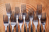 Sets van vorken — Stockfoto