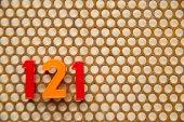 Harfler ve sayılar — Stok fotoğraf