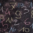 Colored numbers — Stock Photo #80088806