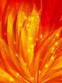 Vector orange background — Stock Vector