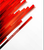 Vector banner set, Red line. — Stock Vector