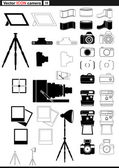 Vector set web icons. — Stock Vector