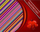 Vector red heart — Stock Vector