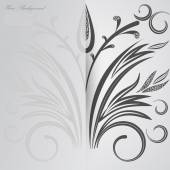 Vector Elegant background with lace ornament . — Vector de stock