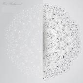 Vector Elegant background with lace ornament . — Διανυσματικό Αρχείο
