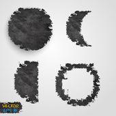 Vector Grunge template design. — Stock Vector