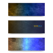 Vector banner template. — Stock Vector