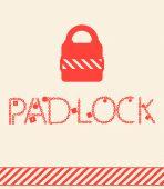 Vector concepts padlock. — Stock Vector
