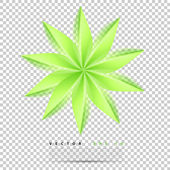 Vector abstract background flower. — Stock Vector