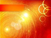 Vektor abstrakt Kreis und Welle. — Stockvektor