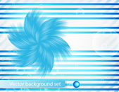 Vector abstract line and. Stripe blue curve — Vetorial Stock