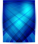 Vector Straight lines abstract background. Blue — Stok Vektör