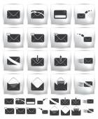 Vector collection web icon. Set pictogram — Vector de stock