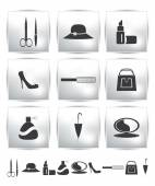 Vector collection web icon. Set pictogram — Vetorial Stock