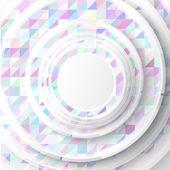 Vector circles mini — Stock Vector