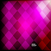 Vector abstract background. Squares red geometric — Vettoriale Stock