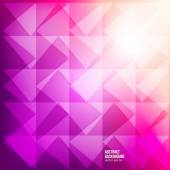 Vector abstract background. triangle geometric — Vettoriale Stock