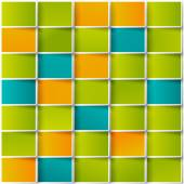 Vector color squares. Abstract background — Vetor de Stock
