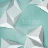 Vector background abstract polygon triangle. — Stock Vector