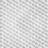 灰色のキューブから抽象的な幾何学的図形をベクトルします。. — ストックベクタ