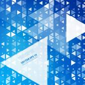 Vector Abstract geometric — Stock Vector