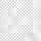 Vektor abstrakte geometrische form aus grauen cubes. — Stockvektor
