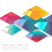 Vector design rhombus — Stock Vector
