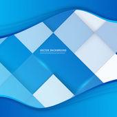 Vector abstract background design wavy. — Stock Vector