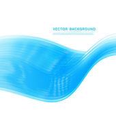 Vector abstrait conception ondulée. — Vecteur