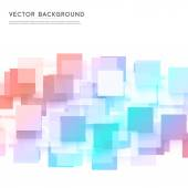 Vector background abstract squares. — Stock Vector