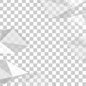 Vector background abstract polygon triangle. — 图库矢量图片