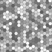 Vector abstract 3d hexagonal — Stock Vector