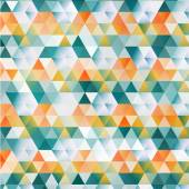 Vector Abstract template. Background with triangle — Stockvektor
