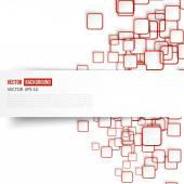 Vector Abstract geometric shape — Stock Vector