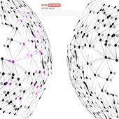 Vector Social Networks  — Stock Vector