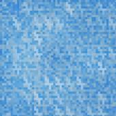 Vector abstracte vierkante pixels mozaïek. — Stockvector