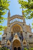 Church of Sant Bartomeu in Soller — Stock Photo