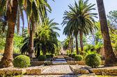 Alfabia gardens — Stock Photo