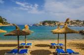 Resort beach, Port de Soller, Mallorca — ストック写真