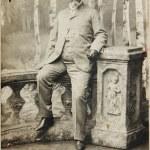 Ancient photo of  man — Stock Photo #72461345
