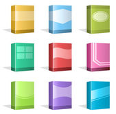 Software Boxes, Ebook Cover Designs — Stockvector