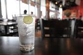 лимонный тоник соды — Стоковое фото