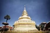 Pagoda in blue sky — Stock Photo