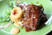 BBQ ribs — Stock Photo