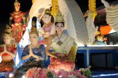 CHIANGMAI THAILAND - NOVEMBER 07 : Loy Krathong festival, celebr — Stock Photo