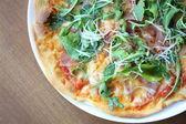 Rocket Parma Pizza  — Stockfoto