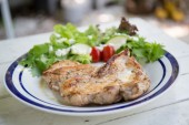Chicken steak — Stock Photo